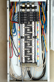 similiar standard home breaker box keywords building or residential home basic electrical wiring stock photo