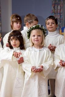 Colourbox Children Stock Lucia Photo Santa Procession In vqwFrYPqH