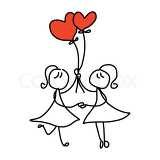 Download image Happy Couple Cartoon Drawing PC, Android, iPhone and ...