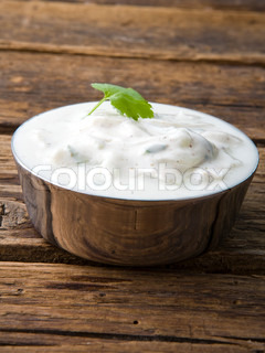 Bowl of Indian yoghurt