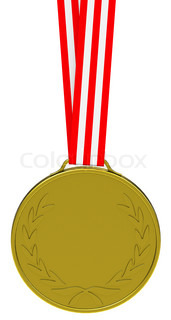 the golden medal