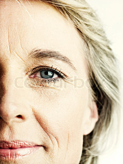 Image of 'wrinkle, woman, faces'