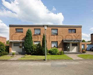 Duplex building in Germany