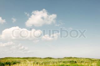 Billede af 'sky, miljø, eng'