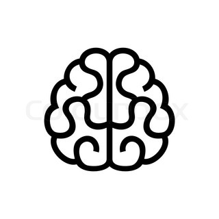 Human Brain Vector 5219422 on puzzle clipart