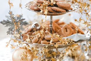 Traditional danish Christmas cookies