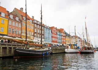 Billede af 'nyhavn, københavn, danmark'