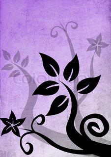 Billede af 'blomst, designelement, Blomst'