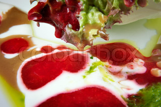 strawberry olive dressing