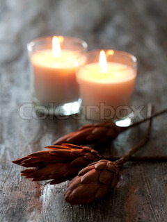 Autumnal candlelights