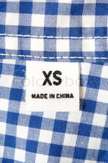 Clothe made in China
