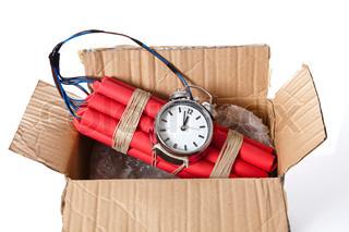 Image of 'bomb, explosive, clock'