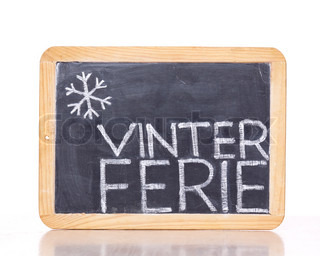 Billede af 'vinterferie, inden i, tegning'