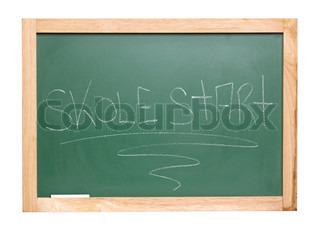 Billede af 'skoler, tavle, close-'