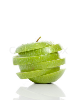 Image of 'apple, simple, green'
