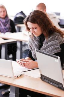 Billede af 'student, studerende, mobil'