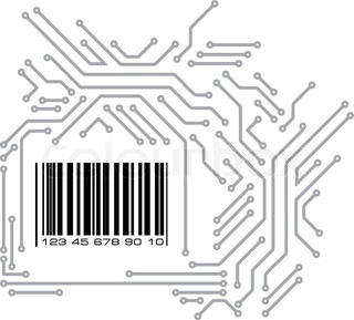 the printed circuit board without electronic components