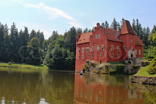 Red castle house