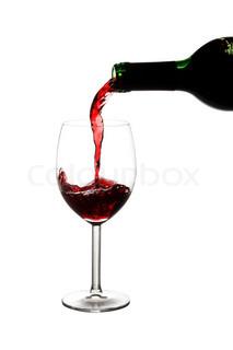 Billede af 'rødvine, vinflasker, vinflaske'