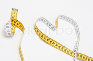 Heart-shaped tape measure