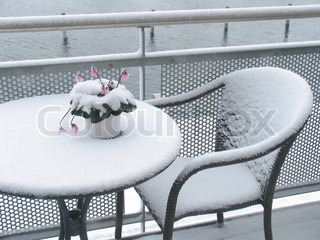 Billede af 'frostvejr, omfattet, danmark'
