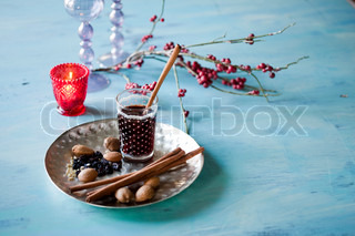Glogg - traditional danish Christmas beverage