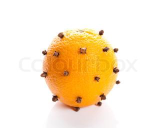 Image of 'christmas, decoration, orange'