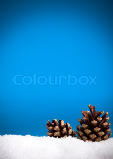 Billede af 'blå, vinter, simpel'