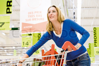 Image of 'grocery, food, trolley'