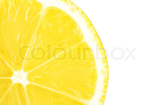 Macro food collection - Lemon slice