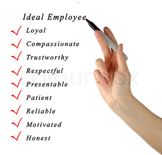 Ideal Employee | Stock Photo | Colourbox