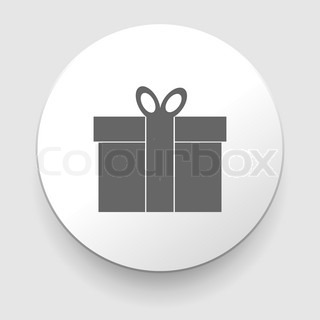 Gift box - Vector icon