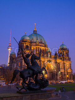 Berliner Dom (Berlin Cathedral), Germany.