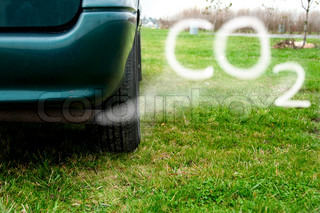 Billede af 'kuldioxid, global, vogn'