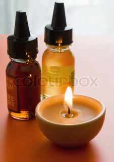 Image of 'oil, candles, candle'