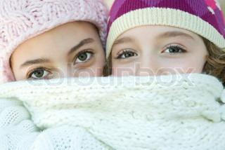 Image of 'winter, friendship, friend'