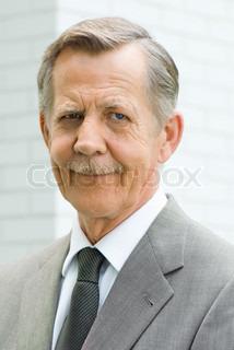 Image of 'man, old people, portrait'