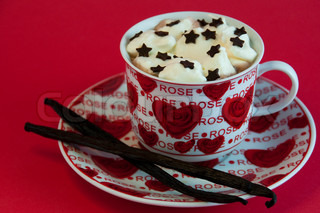 hot Christmas cocoa