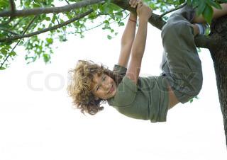 Billede af 'børn, lege, klatrende'
