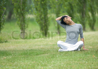 Image of 'outdoor, workout, strech'
