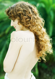 Image of 'naked, woman, redhead'