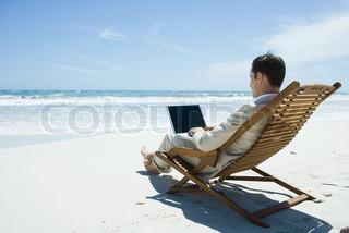 Billede af 'strand, strand stol, sommer'