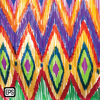 Abstract decorative marker on the background. EPS