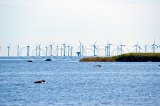 Energie von Offshore-Windparks