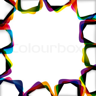 Abstract background with forms of empty frames for your design.