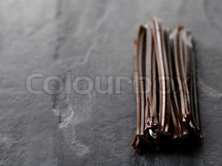 Bunch of licorice