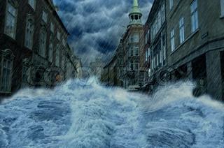 Billede af 'oversvømmelse, oversvømmelser, københavn'