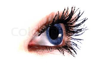 Billede af 'øje elev, hvid, øjet'
