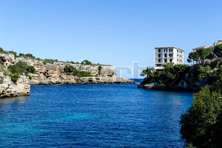 Harbor entrance, Cala Figuera
