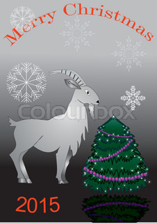 big goat and spruce